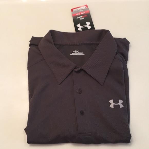 05353e32 Under Armour Shirts   Men Ua Golf Performance Polo Tshirt   Poshmark